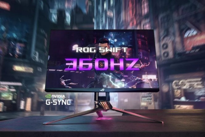 Asus announces a slew of new products, world's first 360Hz monitor included
