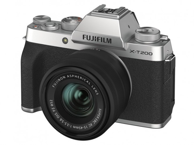 Fujifilm announces $700 X-T200 mirrorless camera