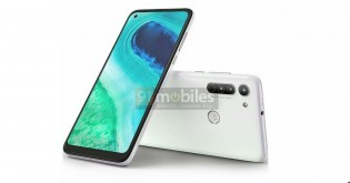 New Motorola G8 renders show a punch hole camera on the front