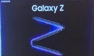 Samsung Galaxy Z's promo poster pops up