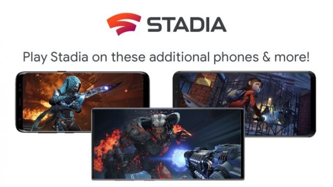 Google Stadia compatible device list expands with Samsung, Asus and Razer phones