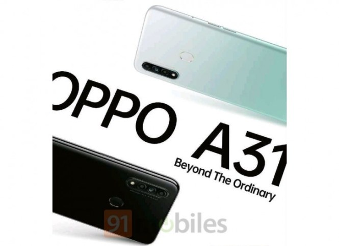 Oppo A31 to land in India next week