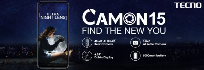 Tecno Camon 15 and Camon 15 Pro bring 48 MP quad cameras to the midrange market in India