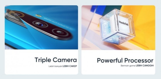 Realme C3 to debut in Indonesia on February 19 with one extra camera