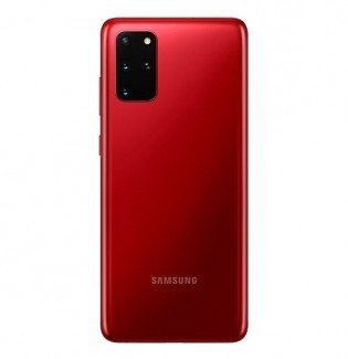 Samsung Galaxy S20+ in Red