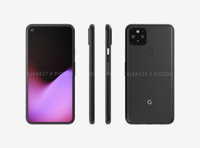 Possible CAD renders of Google Pixel 5 leak, reminiscent of Pixel 4