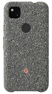 Google Pixel 4a fabric cases: Static Gray