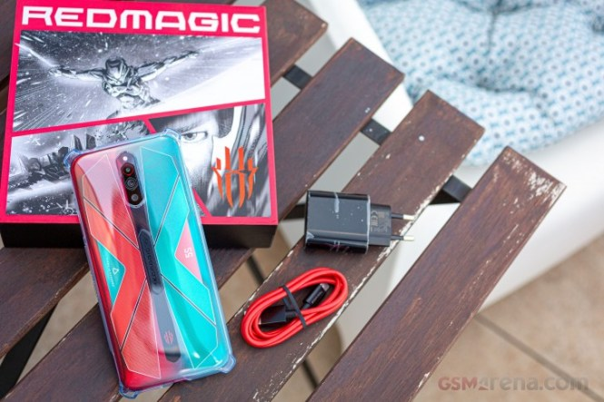 nubia Red Magic 5S in for review