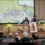 علی دهباشی به همراه مهدی ماحوزی ـ عکس از خبرگزاری مهر