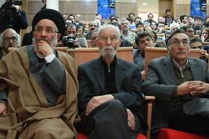سید مصطفی محقق داماد، دکتر محمد علی موحد، دکتر جزایری ـ عکس از مجتبی سالک