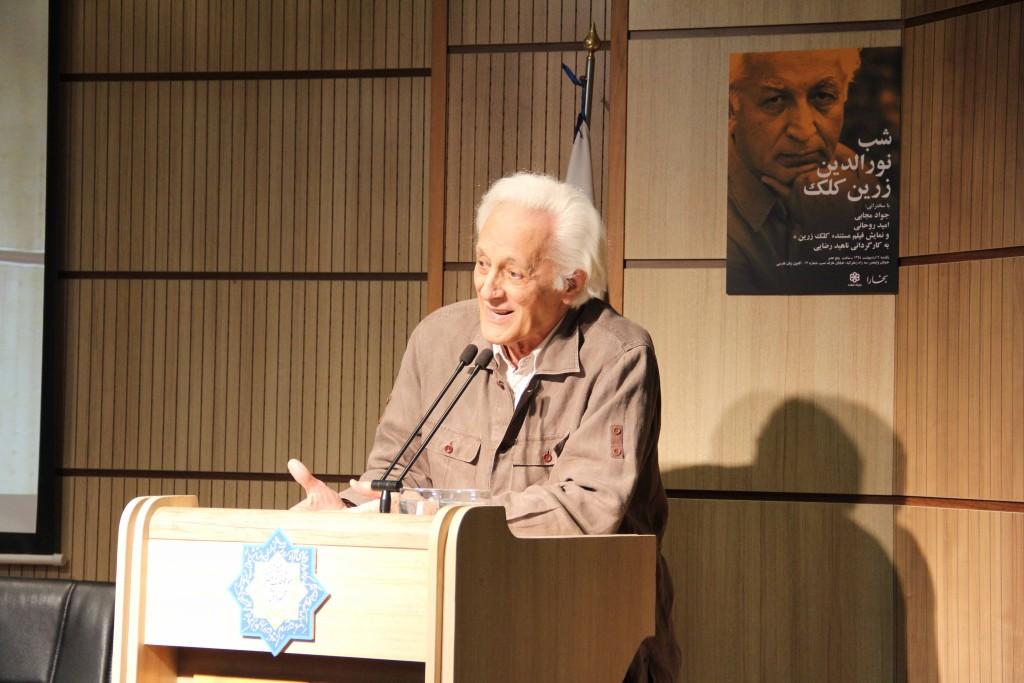 منوچهر انور ـ عکس از ژاله ستار