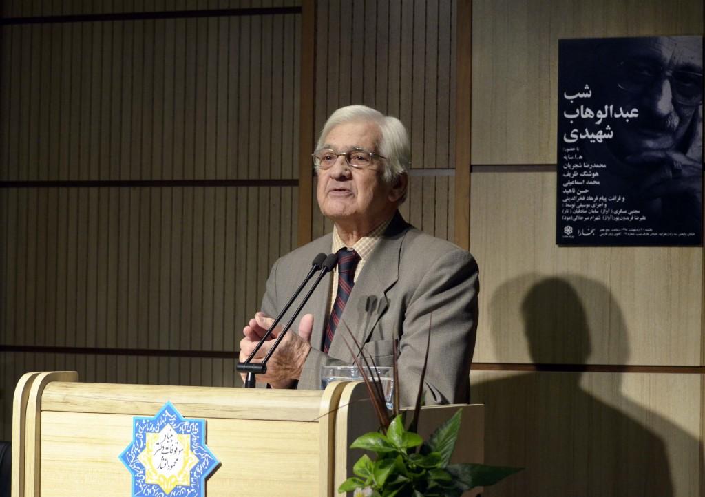 هوشنگ ظریف ـ عکس از متین خاکپور
