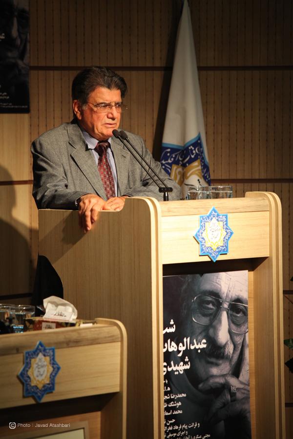 محمدرضا شجریان ـ عکس از جواد آتشباری