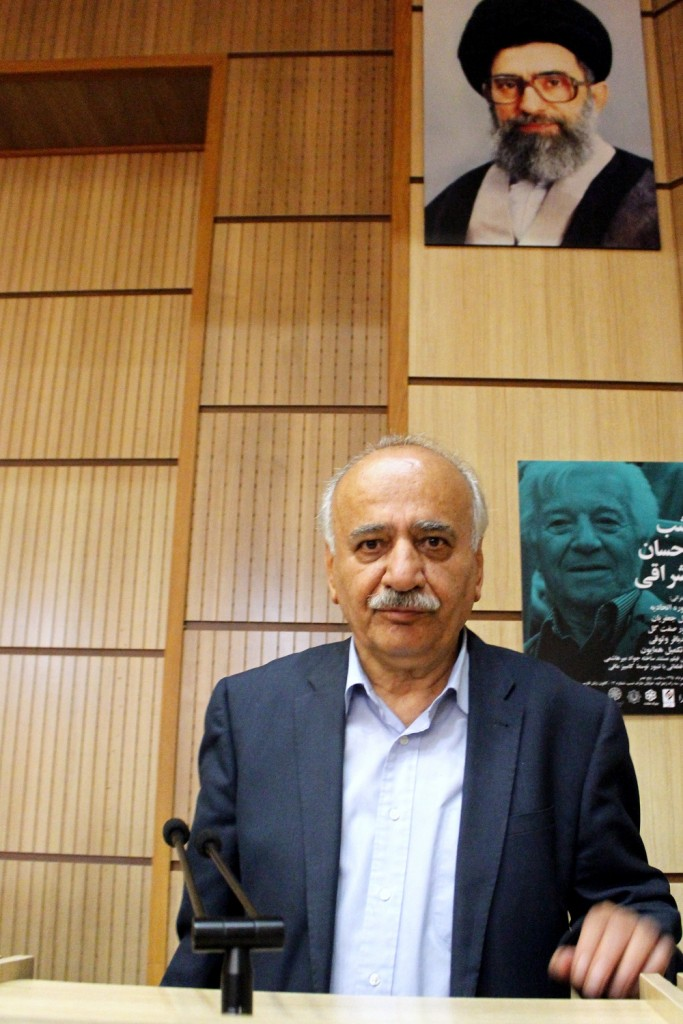 دکتر ناصر تکمیل همایون ـ عکس از مریم اسلوبی