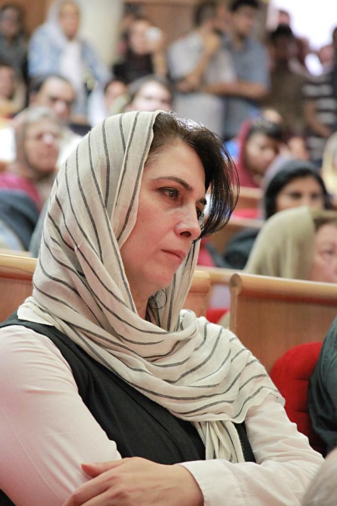 ( همسر محمدرضا لطفی ) عکس از مجتبی سالک