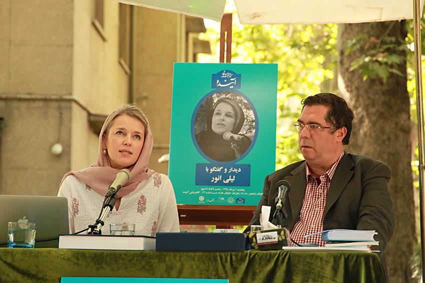 علی دهباشی و لیلی انور - عکس از مجتبی سالک