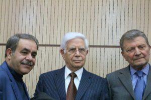 دکتر فریدون علاء و دکتر سیروس امیری و دکتر محمد حسین عزیزی