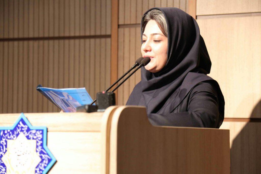 لیدا شچاعی در وصف استاد خود سخن گفت