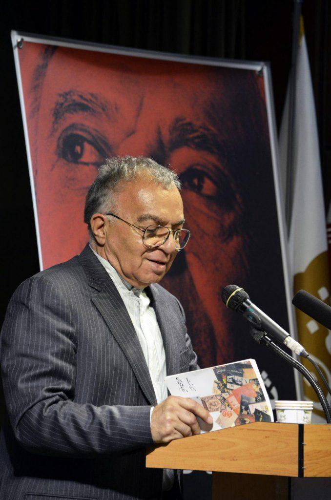 مسعود فروتن دو بند از خاطرات یک مترجم به قلم محمد قاضی را خواند