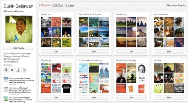 Pinterest bagi Pemula : Media Sosial Berbasis Visual
