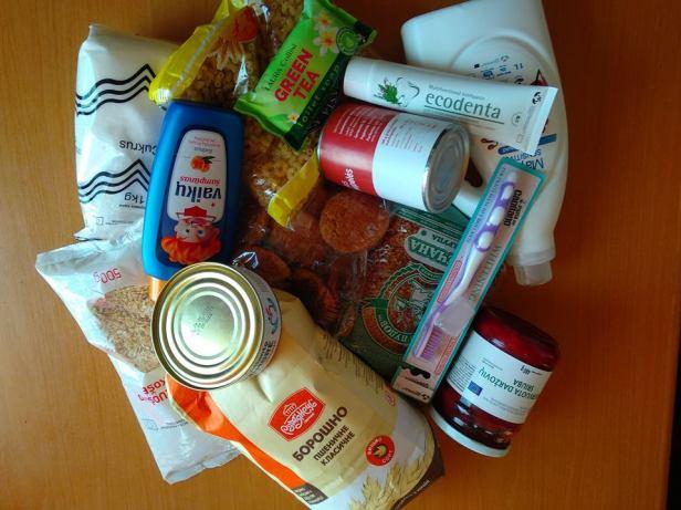 Parama maistas skurstantiems lietuviams