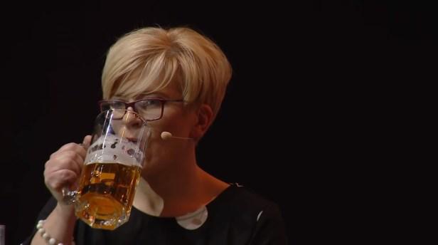 ingrida Šimonytė alus