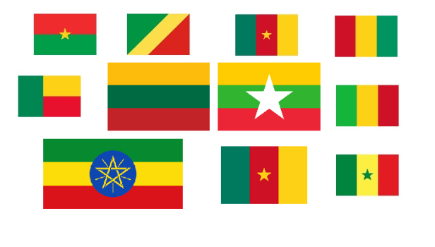 Liethuania Africa flags.png