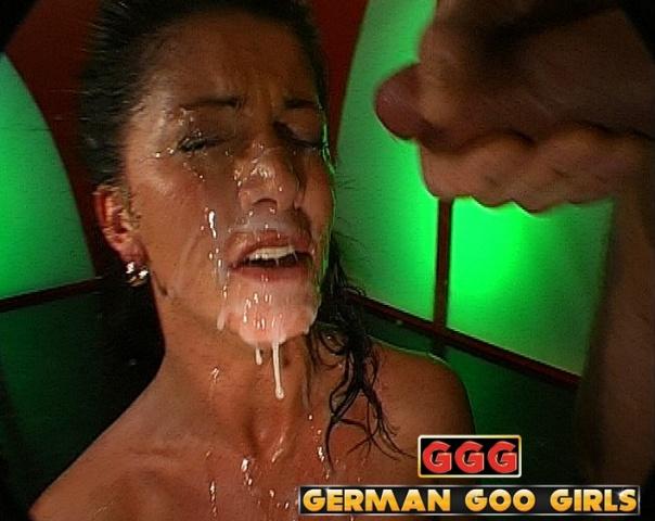 Monja German Goo Girls GGG Bukkake