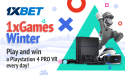 1xbet Christmas gifts galore with 1xGames