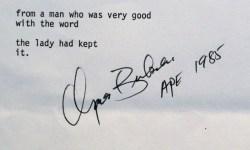 Charles Bukowski Hemingway drunk before noon.