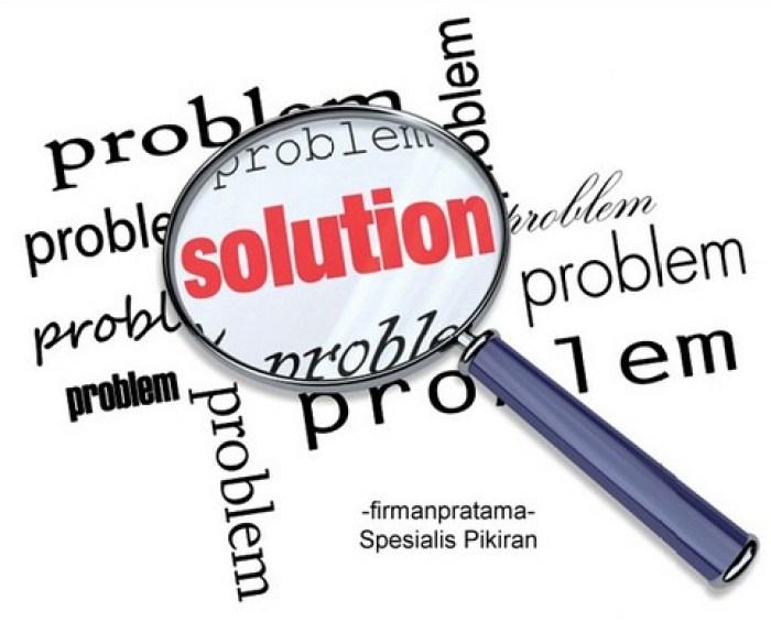 solusi memecahkan masalah