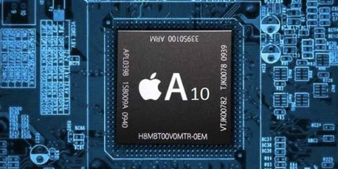 iphone 7  prosessor