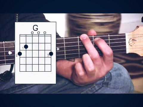 belajar gitar akustik pemula chord g pasti bisa