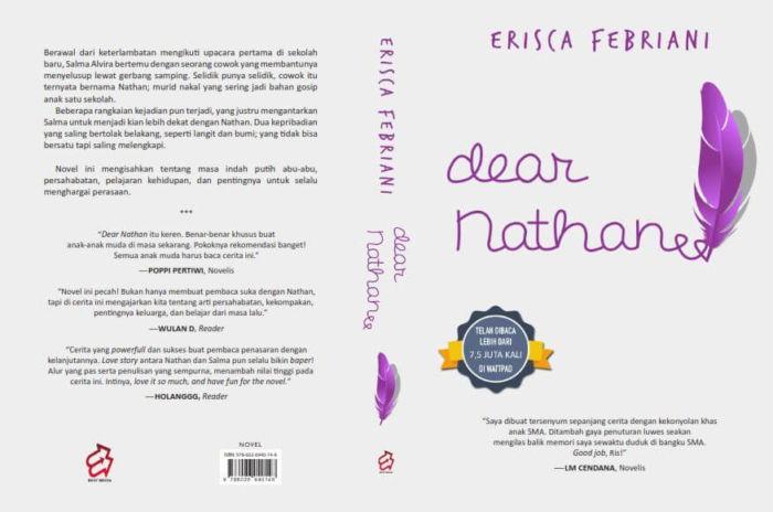 resensi novel dear nathan