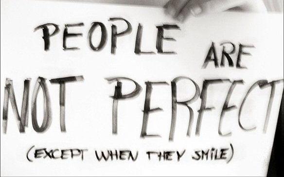 tidak ada yang sempurna