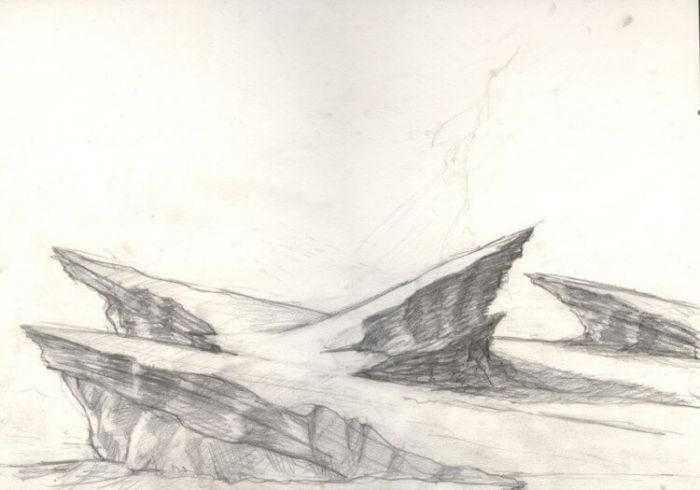 gambar sketsa