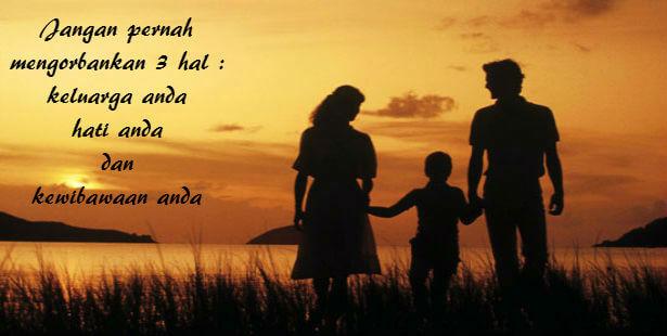Kata Kata Mutiara keluarga tercinta