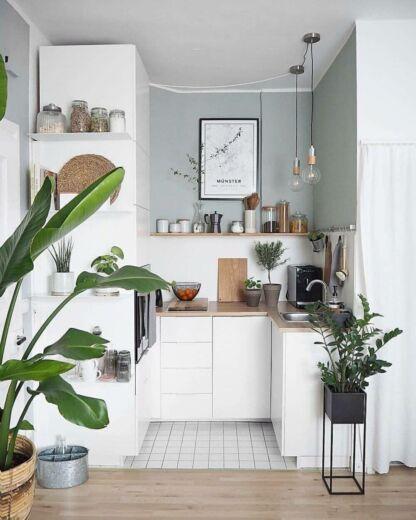 25 Desain Dapur Minimalsi Sederhana Cantik Ruang Kecil Serbaguna Bukubiruku