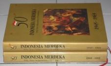 50 Tahun Indonesia Merdeka, Dwibahasa, Cetakan I, Hard Cover