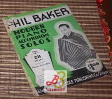 Phil Baker: Modern Piano Accordion Solos, Book B
