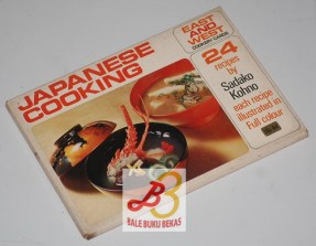 Japanese Cooking, East and West Cookery Cards