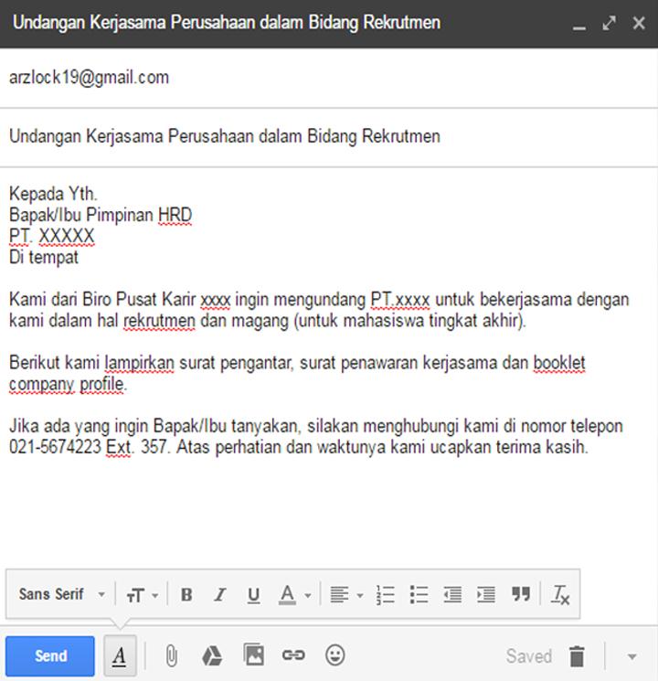 Cara menulis dan mengirim email formal dengan baik dan ...