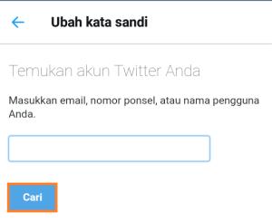 cara atur ulang kata sandi twitter dengan email, cara atur ulang kata sandi twitter dengan nomor ponsel, cara atur ulang kata sandi twitter melalui hp