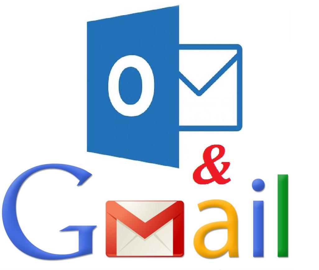 Cara Menghubungkan Gmail ke Outlook Mail