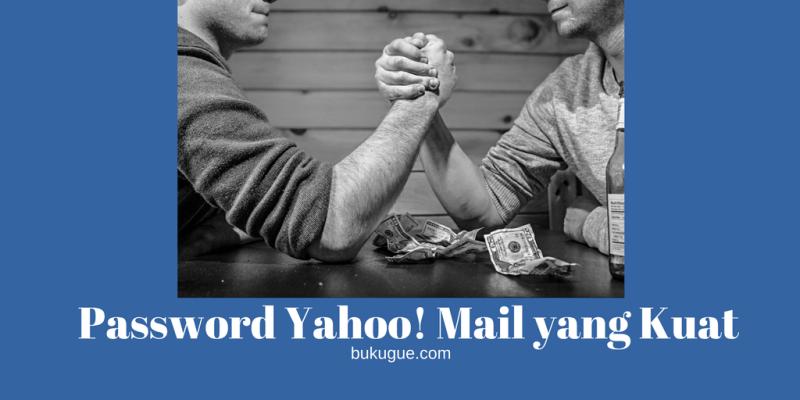 Cara ganti password Yahoo