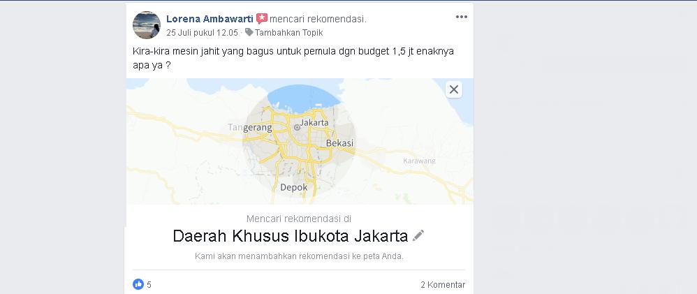 Cara Mudah Minta  Rekomendasi di Grup Facebook