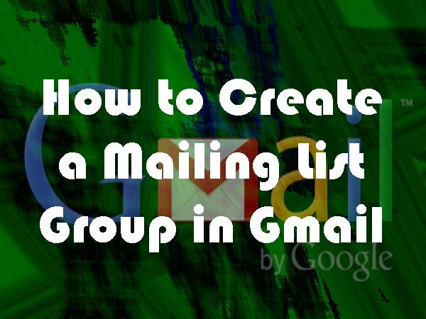 Cara membuat grup milis di Gmail dengan google group