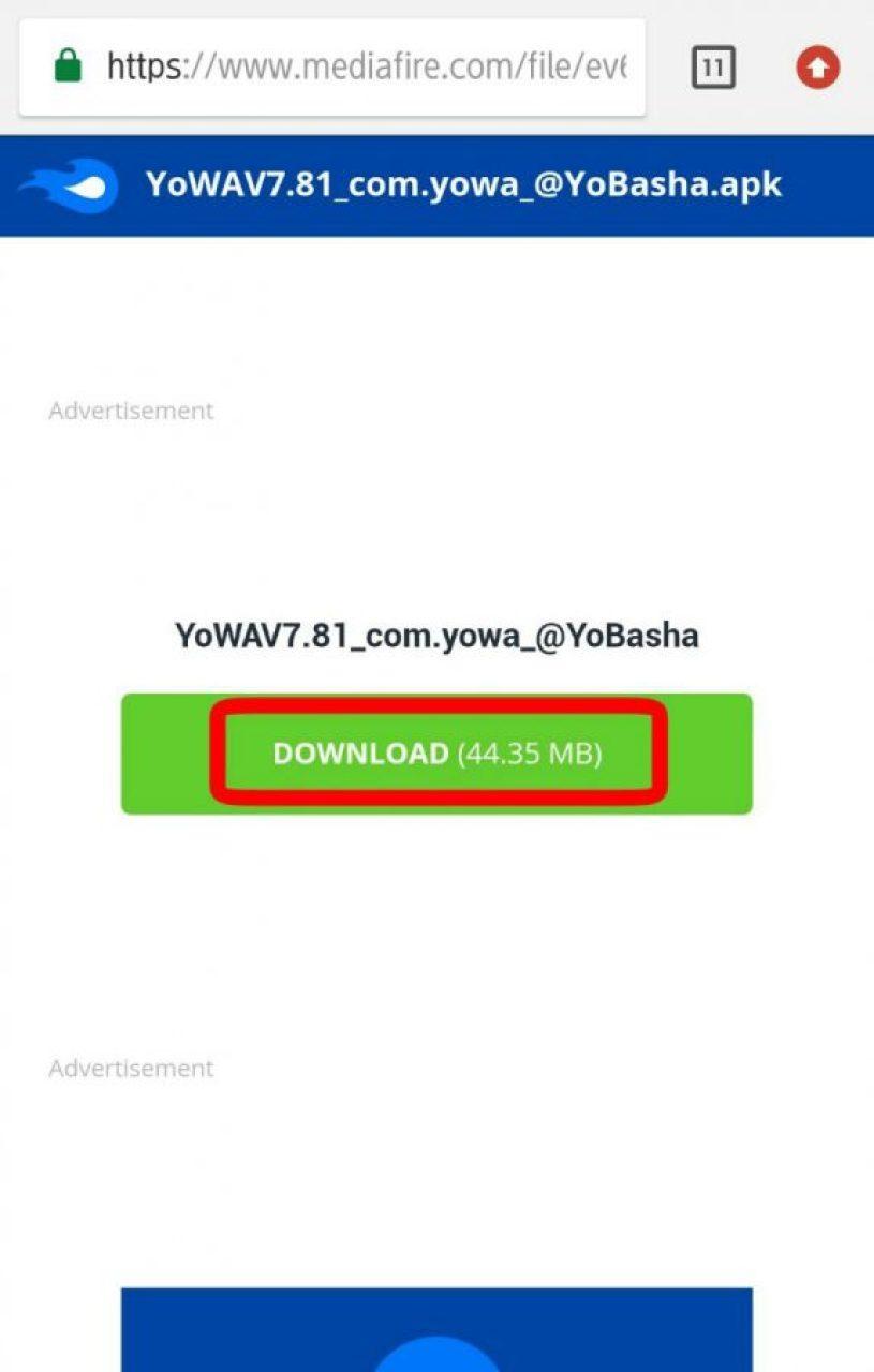 Tap download
