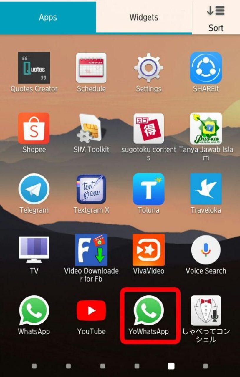 Buka Aplikasi WhatsApp Mod