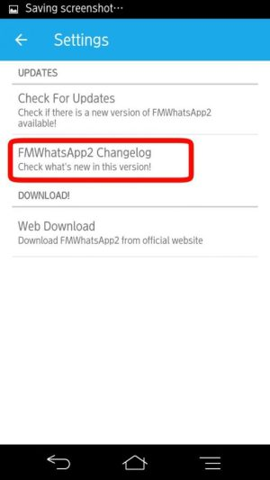 Tap Changelog FmwhatsApp2